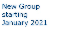 New Group starting January 2021